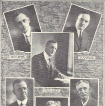 Image of Grand Lodge Officers for 1923 - 2012.12.386