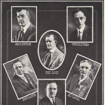 Image of Grand Lodge Officers for 1922 - 2012.12.388