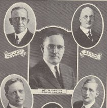 Image of Grand Lodge officers for 1925