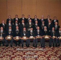 Image of Grand Lodge officers 2007-2008 - 2012.9.1