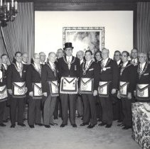 Image of Grand Lodge Officers 1982-1983 - 2012.9.3