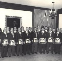 Image of Grand Lodge Officers 1986-1987 - 2012.9.30