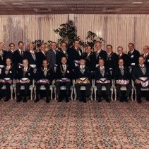 Image of Grand Lodge Officers 1989-1990 - 2012.9.33