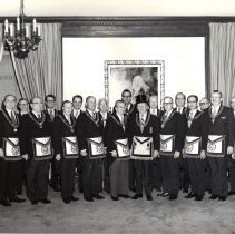 Image of Grand Lodge Officers 1974-1975 - 2012.9.34