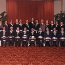 Image of Grand Lodge Officers 1985-1986 - 2012.9.35