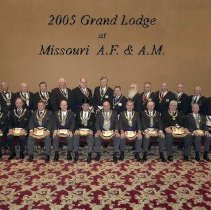 Image of Grand Lodge Officers 2004-2005 - 2012.9.38