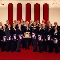 Image of Grand Lodge Officers 1981-1982 - 2012.9.4