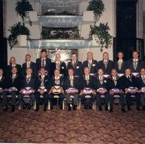 Image of Grand Lodge Officers 1991-1992 - 2012.9.5