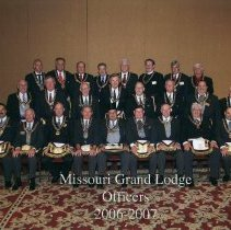 Image of Grand Lodge Officers 2006-2007 - 2012.9.51