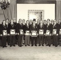 Image of Grand Lodge Officers 1973-1974 - 2012.9.7