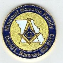 Image of David Ramsey Coin - 2013.1.142