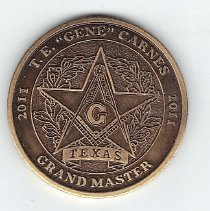 Image of GM Gene Carnes 2011 Coin - 2013.1.143