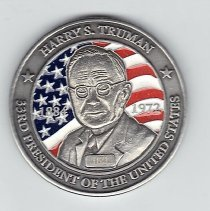 Image of Harry S Truman 33rd President of the United States Coin 2012 - 2013.1.145