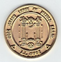 Image of 150 Anniversary Coin York Grand Lodge of Mexico - 2013.1.146