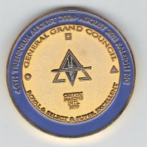 Image of General Grand Chapter Coin 2008 - 2013.1.196
