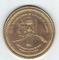 Image of Grand Lodge of Alaska Coin 2011 - 2013.1.204