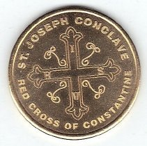 Image of 100th Anniversary Coin St Joseph Conclave Red Cross of Constantine - 2013.1.216