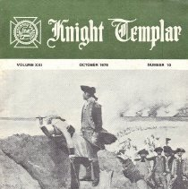 Image of Grand Encampment Office - Freemasonry--Knight Templar Freemasonry--Ritual--Knight Templar Washington, George