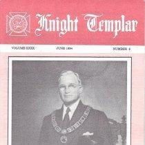 Image of Grand Encampment Office - Freemasonry--Knight Templar Freemasonry--Ritual--Knight Templar Truman, Harry S.