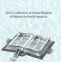 Image of Worship Service Program, GM Conference 2013