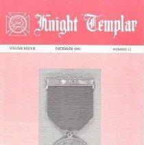 Image of Grand Encampment Office - Freemasonry--Knight Templar Freemasonry--Ritual--Knight Templar Membership Jewel