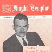 Image of Grand Encampment Office - Freemasonry--Knight Templar Freemasonry--Ritual--Knight Templar Dewey Thomas E.