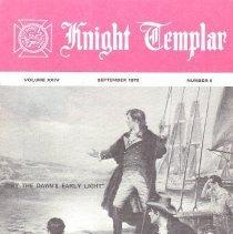 Image of Grand Encampment Office - Freemasonry--Knight Templar Freemasonry--Ritual--Knight Templar Key, Francis Scott