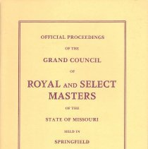 Image of Proceedings Grand Council RSM Missouri 1979