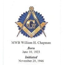 Image of Funeral Card William Chapman - 2013.4.174