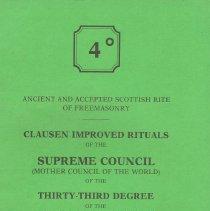 Image of Scottish Rite  SJ - Rituals--Scottish Rite