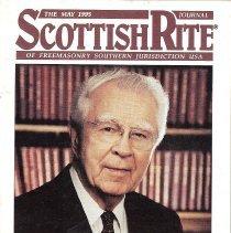 Image of AASR SJ - Freemasonry--Scottish Rite Sanders, Carl J. 33o GC