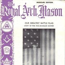 Image of General Grand Chapter RAM - Freemasonry--Royal Arch--History History--United States--Star Spangled Banner