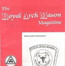 Image of General Grand Chapter RAM - Freemasonry--Royal Arch--History