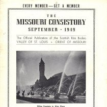 Image of Missouri Consistory September 1949