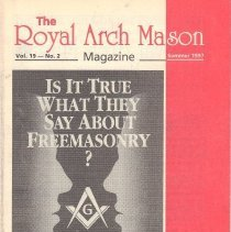 Image of Royal Arch Mason Summer 1997