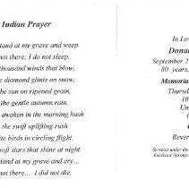 Image of Funeral Card Donald Wayne Nail - 2013.6.17
