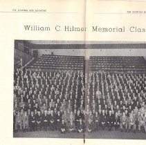 Image of William C Hilmer Memorial Class Scottish Rite St Louis 1960 - 2013.6.186