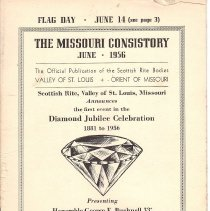 Image of Missouri Consistory June 1956