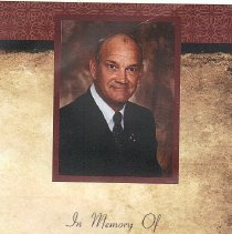 Image of L.LeRoy Salmon Funeral Card - 2013.10.2