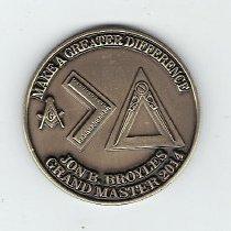 Image of Jon Broyles GM Coin 2013 - 2013.11.1