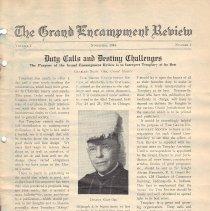 Image of Grand Encampment Review November 1944