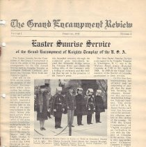 Image of Grand Encampment - Masonic Periodical--Knight Templar