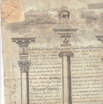 Image of Grand Lodge of Ireland - Masonic certificates, warrents, etc.--Ireland Truman, Harry S 1884-1972 Research Lodge--Missouir