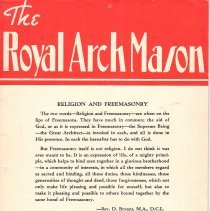 Image of General Grand Chapter RAM - Freemasonry--Royal Arch