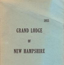 Image of Grand Lodge of New Hampshire - Freemasonry--History--New Hampshire