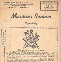 Image of Masonic Review September 1950