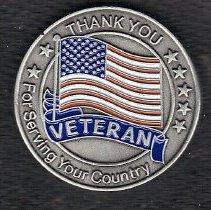 Image of Veteran Coin - 2014.11.22