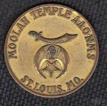 Image of Paul L Krueger Shrine Class Coin - 2014.11.46
