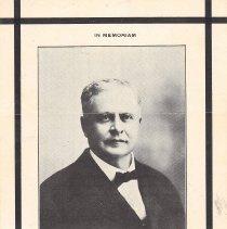 Image of John W Bingham GM 1918-1919