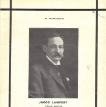 Image of Jacob Lambert GM 1912-1913